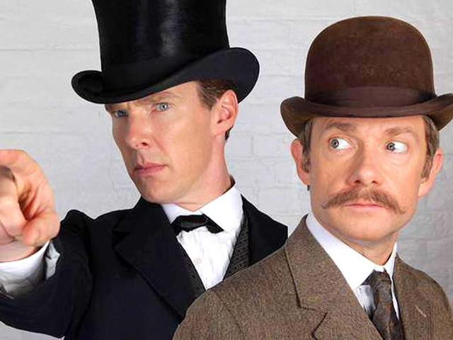 Benedict-Cumberbatch-and-Martin-Freeman-in-a-special-image-shared-by-Sherlock-on-their-Facebook-page