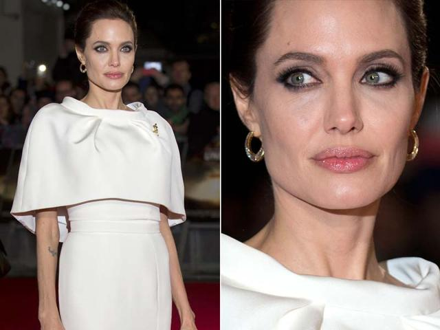 The-director-of-Unbroken-and-actor-Angelina-Jolie-at-the-Critics-Choice-Awards-Agencies