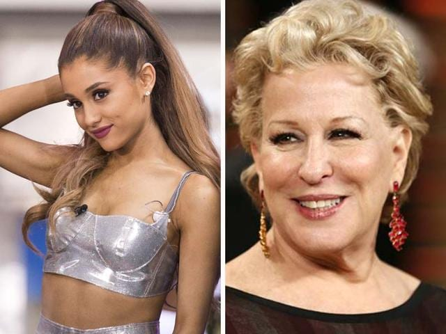 Ariana-Grande-and-Bette-Midler-Agencies