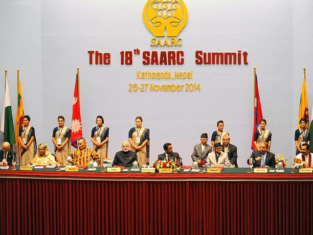 The-18th-Summit-Meeting-of-Saarc-consisting-of-eight-South-Asian-nations-is-being-held-in-Kathmandu-Nepal-AFP-Photo