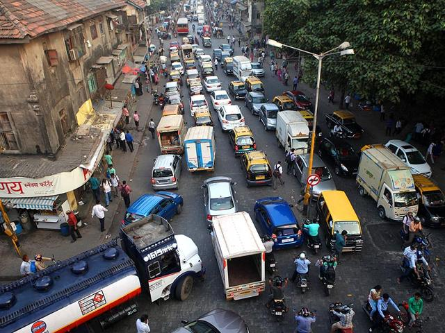 A-file-photo-of-traffic-at-Elphinstone-in-Mumbai-Kunal-Patil-HT-photo