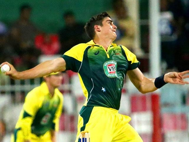 A-file-photo-shows-Australian-bowler-Sean-Abbott-bowling-during-a-One-Day-International-cricket-match-against-Pakistan-in-Sharjah-AFP-Photo