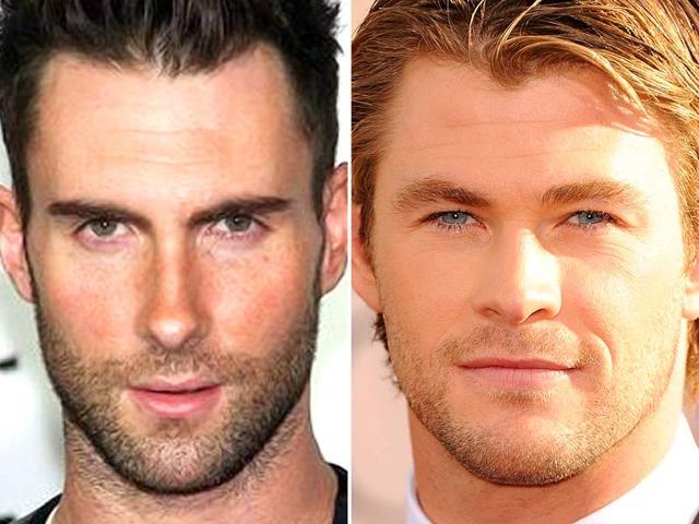 Adam-Levine-and-Chris-Hemsworth