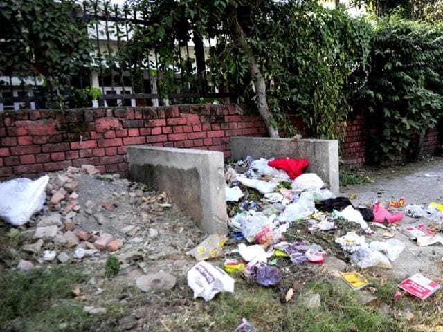 Garbage-dumped-in-a-residential-area-in-Sector-3-Ravi-Kumar-HT