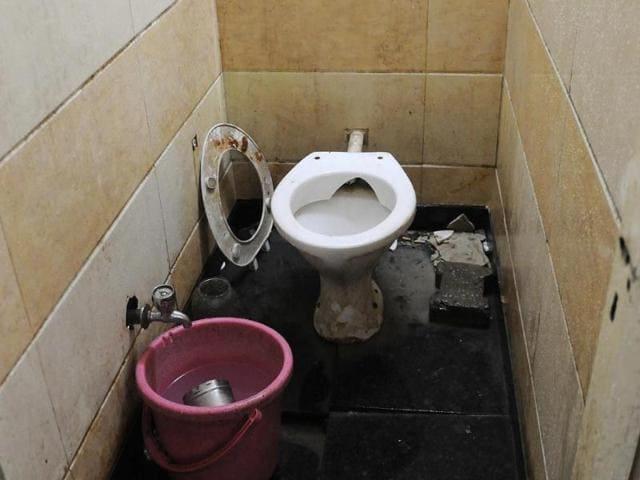 A-damaged-toilet-seat-in-Sector-17-Chandigarh-Gurminder-Singh-HT