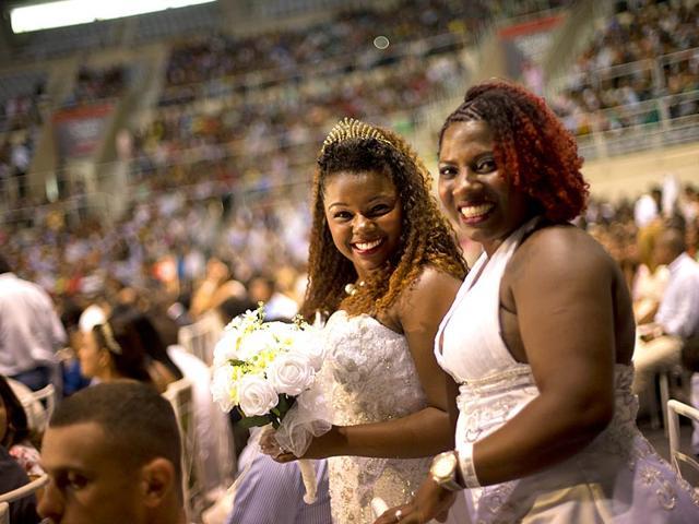 Rio mass wedding,I Do Day,mass wedding