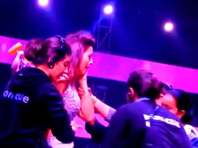 Model-actor-Gauahar-Khan-reacts-after-being-slapped-on-the-sets-of-a-singing-reality-show-YouTube