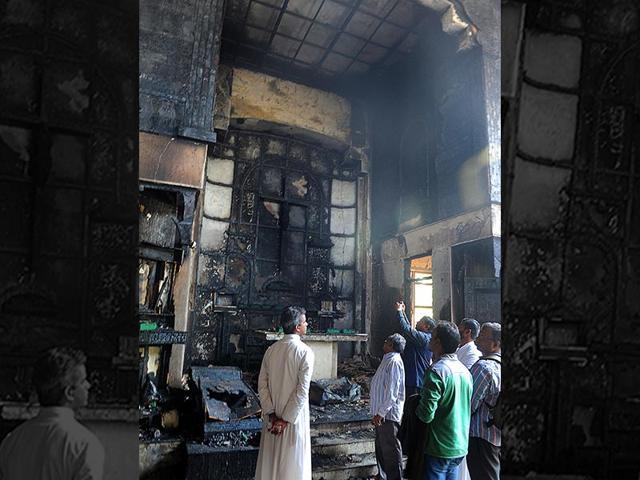 Delhi church fire