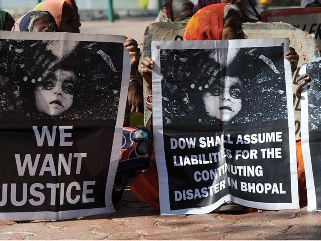 Bhopal-gas-disaster-survivors-hold-posters-during-a-protest-rally-in-Bhopal-on-Tuesday-AFP-photo