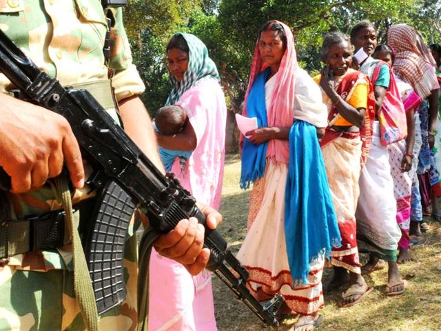 Assembly elections,Jharkhand,polling