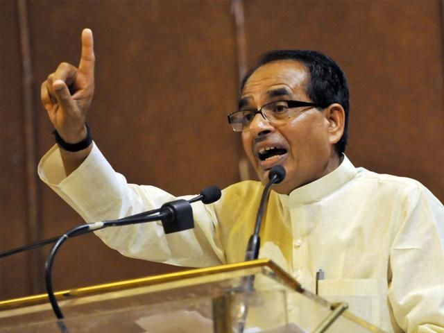 Chief-minister-Shivraj-Singh-Chouhan-at-the-Friends-of-MP-conclave-held-at-Lincoln-Centre-in-New-York-USA-HT-photo