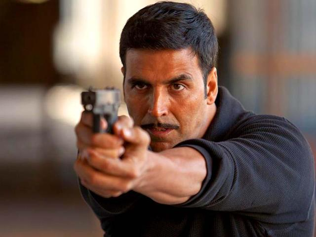 Akshay Kumar in a still from Baby.