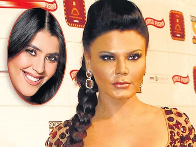 Bollywood-actor-and-TV-personality-Rakhi-Sawant-who-s-known-for-her-item-numbers-and-TV-and-film-producer-Ekta-Kapoor-inset-HT-Photo