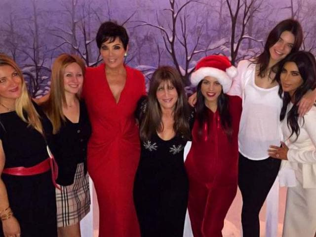 The-Kardashians-partake-some-early-Christmas-fun-Mother-Kris-with-daughters-Khloe-Kendall-and-Kim-Courtesy-Twitter-