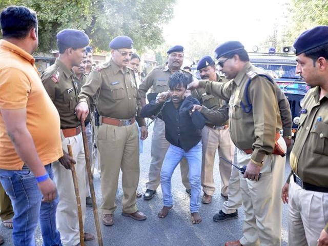 A-rapist-being-made-to-do-sit-ups-by-police-in-Ujjain-on-Wednesday-Sunil-Magariya-HT-photo
