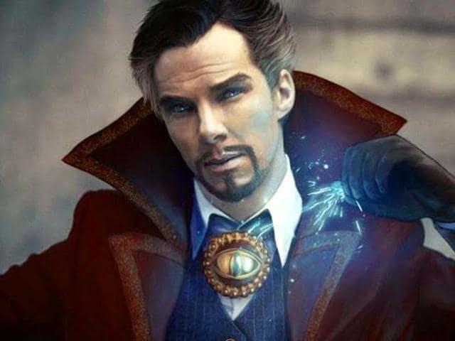 Benedict Cumberbatch,Doctor Strange,Marevl