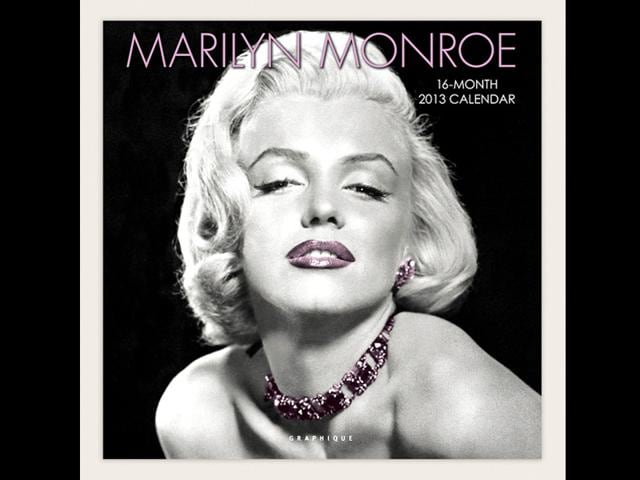 Marilyn Monroe,Kylie Minogue,top calendar icon