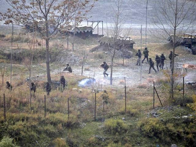Army-soldiers-search-for-suspected-militants-as-smoke-rises-from-a-bunker-after-a-gunbattle-in-Mohra-in-Uri-Reuters-Photo