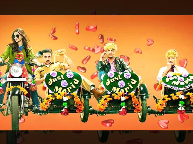 Sonam Kapoor and her three stooges in Dolly Ki Doli motion poster