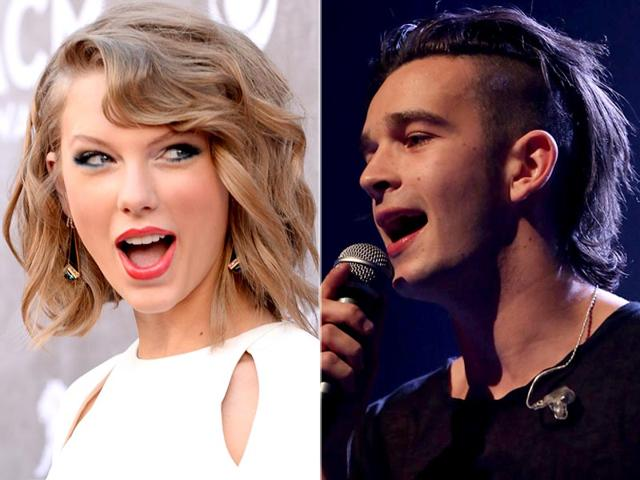 Popstar-Taylor-Swift-is-reportedly-dating-singer-musician-Matthew-Healy-right-AFP