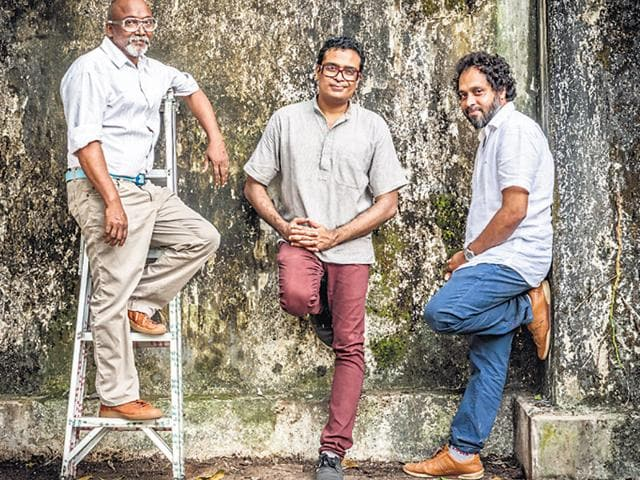 Bose Krishnamachari and Jitish Kallat,Muziris,biennale