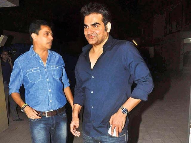 Arbaaz confirms bro-in-law Aayush wants to act