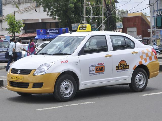 A-radio-taxi-plying-in-Bhopal-HT-photo