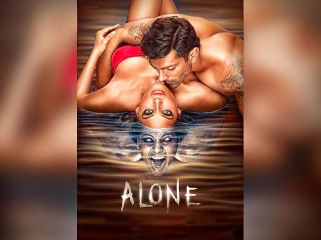 A-poster-of-Bipasha-Basu-Karan-Singh-Grover-starrer-Alone