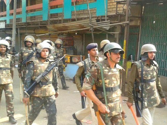Clash in Bhopal,Karond,Madhya Pradesh