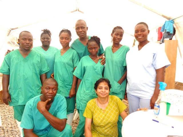 Kalyani Gomathinayagam,ebola,liberia