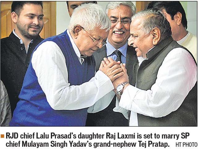 Tej Pratap Yadav,Raj Laxmi,Lalu Yadav