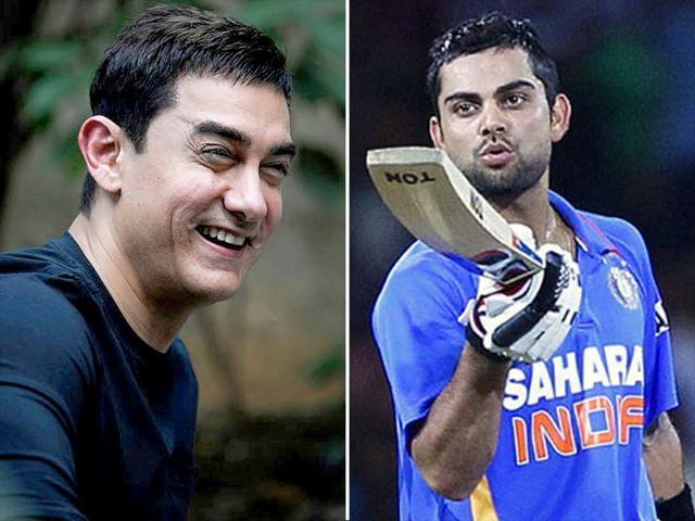 aamir khan,virat kohli,cricket