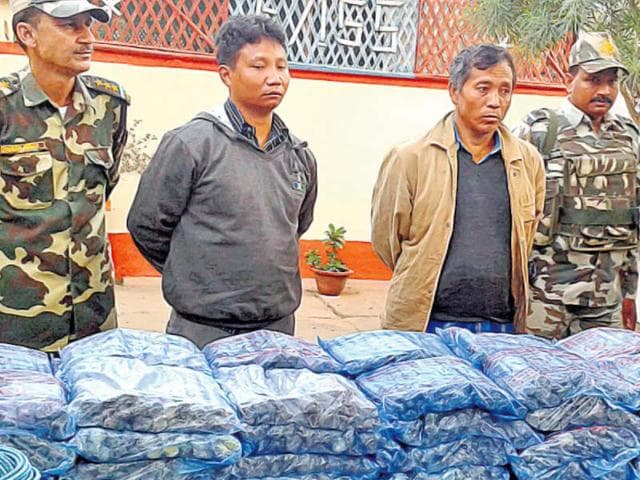The-sensitive-information-was-revealed-by-the-two-accused-in-the-Assam-arms-haul-case-PTI-photo