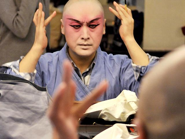 Shao Zheng plays the male lead in The Peony Pavilion. (HT Photo/Saumya Khandelwal)