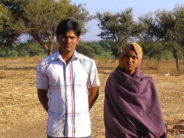 Image result for wife and husband in villages madhya pradesh