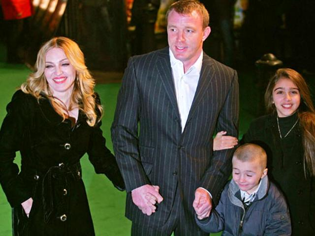 Madonna-with-Guy-Ritchie-daughter-Lourdes-and-son-Rocco-AFP-Photo