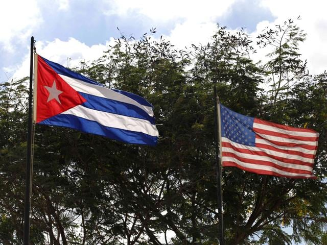 Flags-of-Cuba-and-the-US-flutter-in-Havana-Stepping-out-of-his-legendary-brother-s-shadow-President-Raul-Castro-has-scored-a-diplomatic-triumph-and-a-surge-in-popular-support-with-the-deal-that-ends-decades-of-open-hostility-with-the-US-Reuters