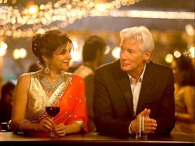 Still-from-The-Second-Best-Exotic-Marigold-Hotel-featuring-Lilette-Dubey-and-Richard-Gere