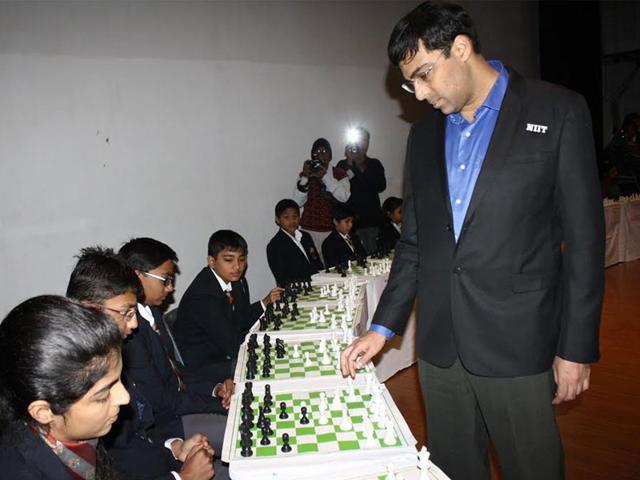 Viswanathan Anand,Indore,chess