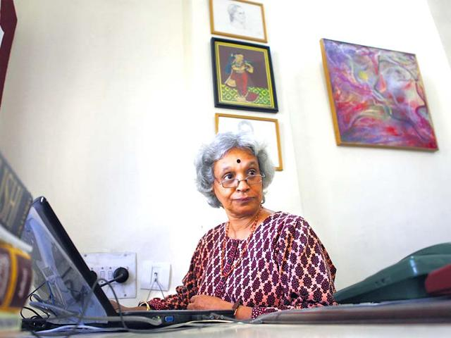 Lakshmi-is-also-Ambai-her-nom-de-plume-the-renowned-Tamil-writer-whose-characters-are-doughty-women-and-coming-to-terms-with-one-s-body-and-use-of-space-recurring-themes-HT-photo