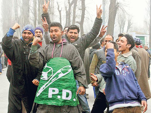 Jammu and Kashmir,J-K assembly election results,PDP