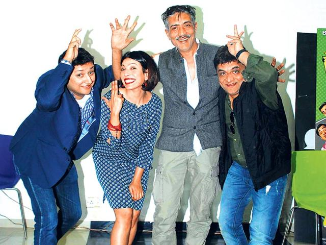 Watch: Prakash Jha gets comic with Crazy Cukkad Family