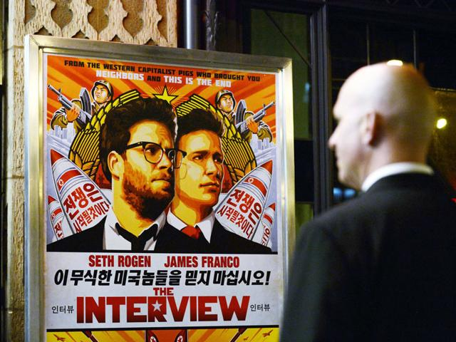 Christmas release,the interview,sony pictures