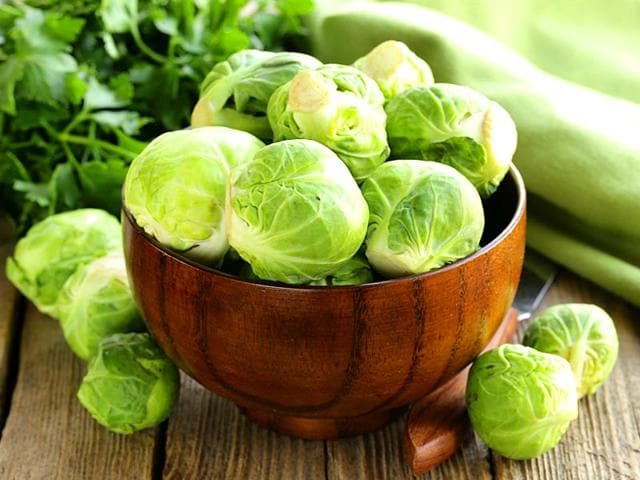 Fight cancer with Christmas veggie Brussels sprout
