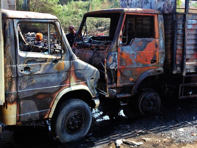 Fire in Mumbai,five dead,Bhiwandi fire