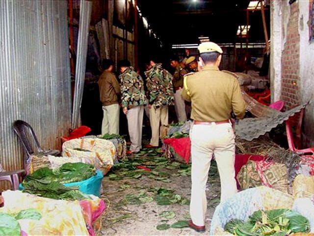 Manipur,bomb blast,Imphal