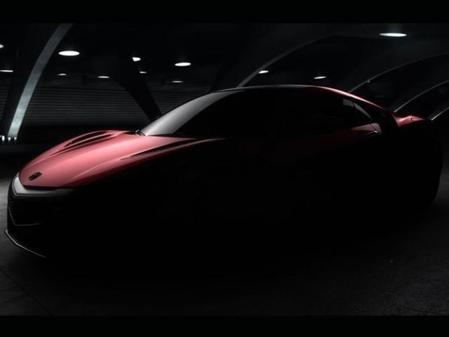 new Honda Acura NSX,Honda Acura NSX,North America International Auto Show