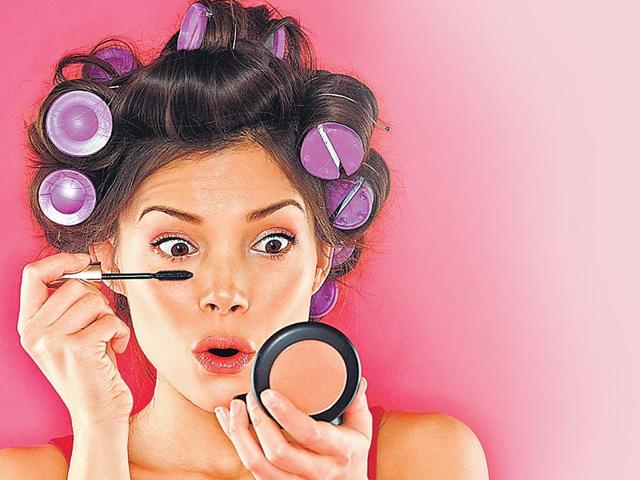 new year party. beauty tips