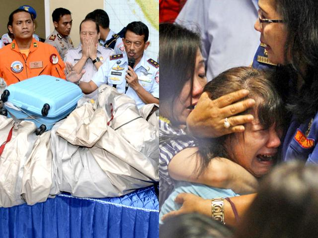 16 bodies found, search on for AirAsia crash site