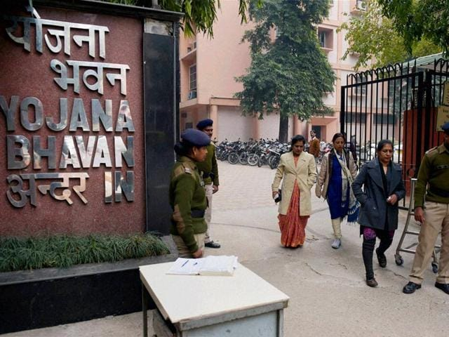 A-view-of-the-Yojana-Bhawan-in-which-the-Planning-Commision-was-located-in-New-Delhi-on-Thursday-The-restructured-body-will-now-be-known-as-the-NITI-Ayog-PTI-Photo